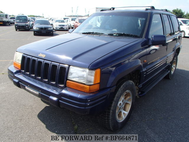 Used 1998 JEEP GRAND CHEROKEE BF664871 For Sale
