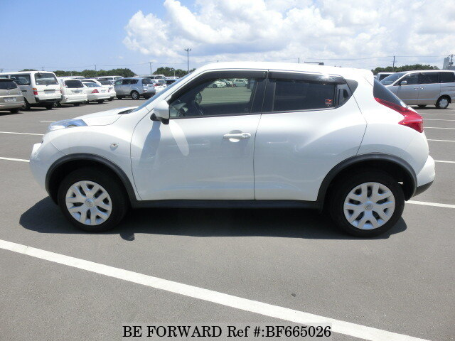 Nissan Juke Tire Size >> Used 2012 NISSAN JUKE 15RS TYPE V/DBA-YF15 for Sale BF665026 - BE FORWARD
