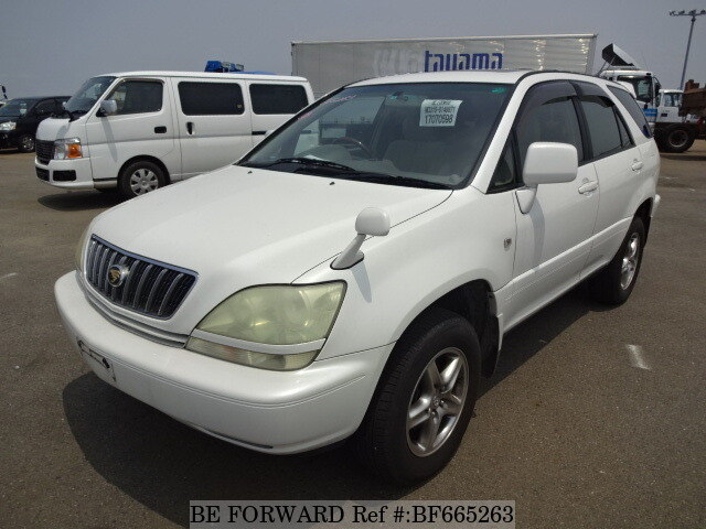 Used 2002 TOYOTA HARRIER BF665263 for Sale