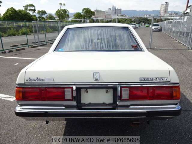 Used 1982 TOYOTA CROWN SUPER SALOON TURBO/E-MS110 for Sale