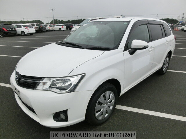Used 2012 TOYOTA COROLLA FIELDER BF666202 for Sale