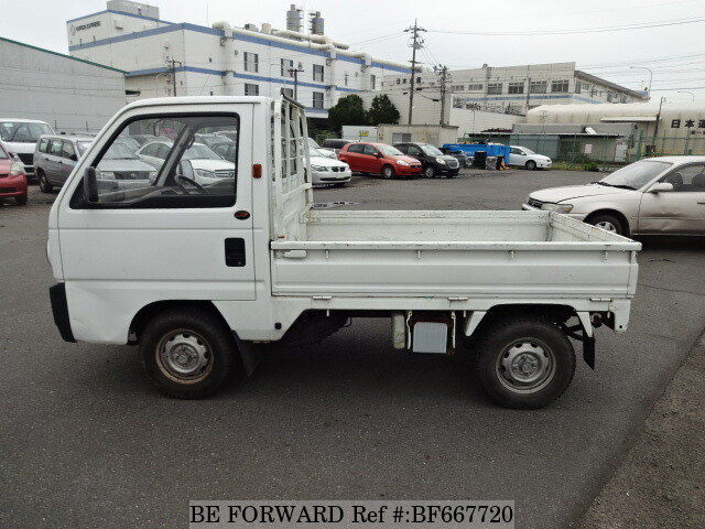 used 1989 honda acty truck m ha2 for sale bf667720 be forward. Black Bedroom Furniture Sets. Home Design Ideas