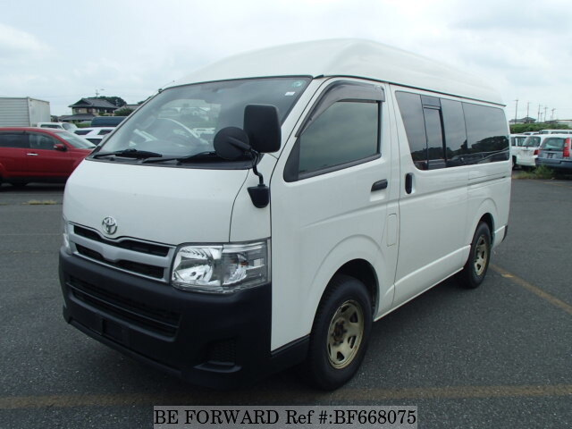 Used 2012 TOYOTA HIACE VAN BF668075 for Sale