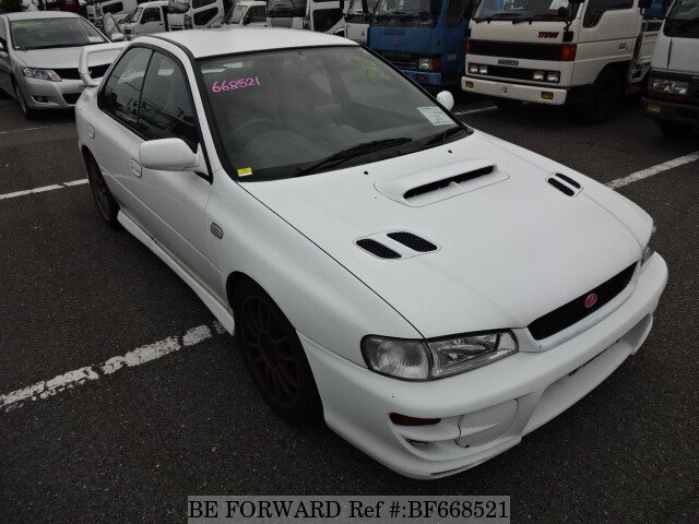used 1999 subaru impreza wrx sti wrx sti version v gf gc8 for sale bf668521 be forward. Black Bedroom Furniture Sets. Home Design Ideas