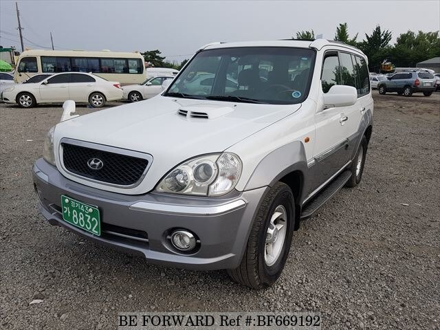 Used 2002 Hyundai Terracan Bf669192 For