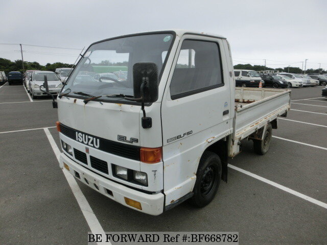 Used 1987 ISUZU ELF TRUCK BF668782 for Sale