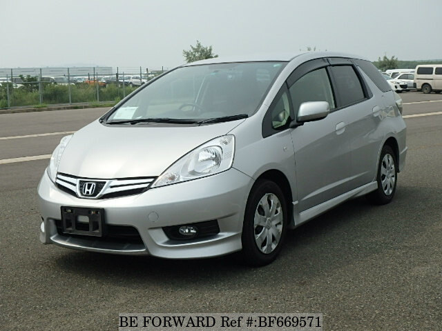 used 2012 honda fit shuttle 15x dba gg7 for sale bf669571 be forward. Black Bedroom Furniture Sets. Home Design Ideas