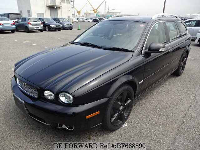 Used 2008 JAGUAR X TYPE BF668890 For Sale