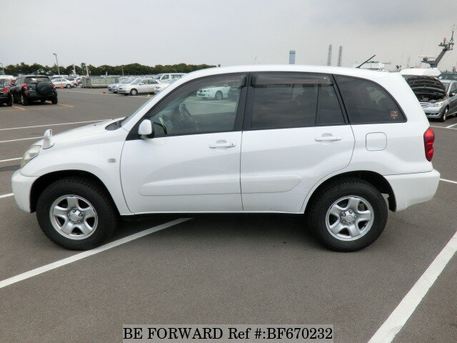 used 2003 toyota rav4 x limited ua zca26w for sale bf670232 be forward. Black Bedroom Furniture Sets. Home Design Ideas