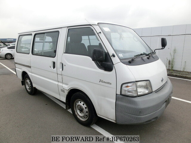 2001 nissan vanette van cd gc sk82vn d 39 occasion en promotion bf670263 be forward. Black Bedroom Furniture Sets. Home Design Ideas