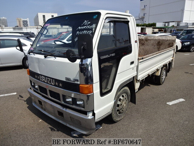 Used 1990 ISUZU ELF TRUCK BF670647 for Sale