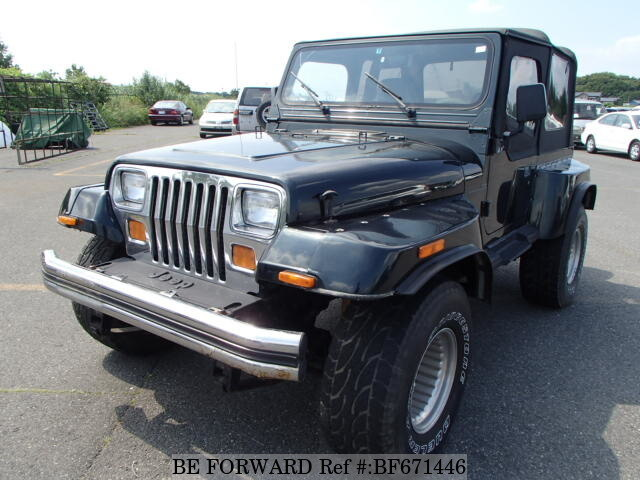 Used 1995 JEEP WRANGLER BF671446 For Sale