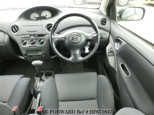 Used 2004 TOYOTA VITZ RS/CBA-NCP10 for Sale BF671847 - BE