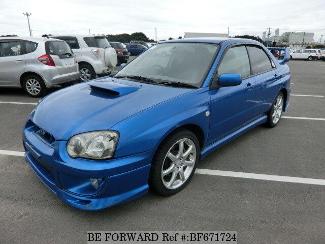 Used 2003 SUBARU IMPREZA WRX BF671724 for Sale
