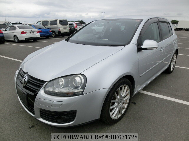 Used 2008 VOLKSWAGEN GOLF 1 4GT TSI/ABA-1KBLG for Sale