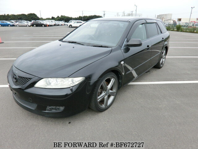 Used 2002 MAZDA ATENZA SPORT WAGON 23C/LA-GY3W for Sale BF672727 ...