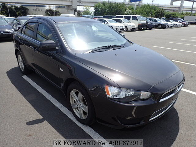 Used 2009 Mitsubishi Galant Fortis Black Leather Edition Dba Cy4a For Sale Bf672912 Be Forward