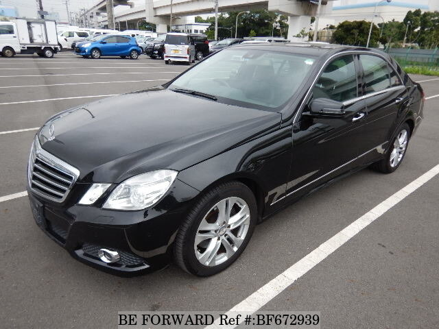 Used 2009 MERCEDES-BENZ E-CLASS BF672939 for Sale