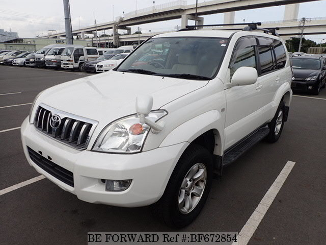 Used 2004 TOYOTA LAND CRUISER PRADO BF672854 for Sale