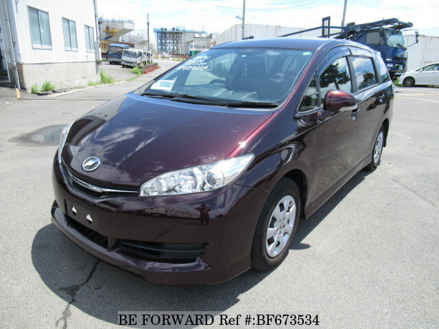 Used 2012 TOYOTA WISH BF673534 for Sale