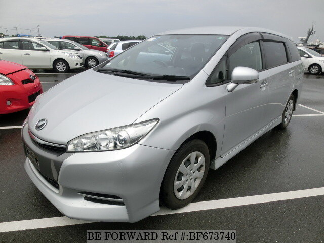 Used 2012 TOYOTA WISH BF673740 for Sale