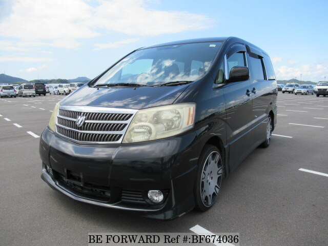 Used 2003 TOYOTA ALPHARD BF674036 for Sale