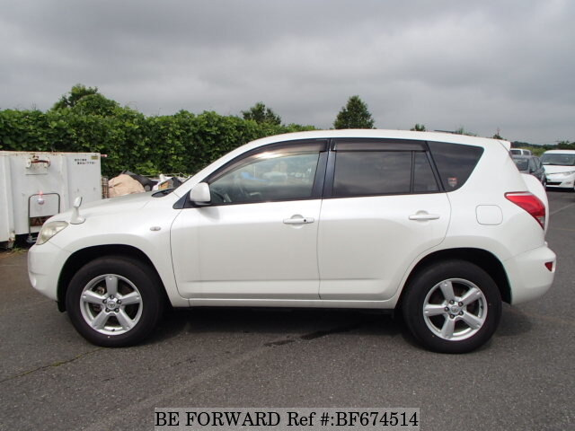used 2005 toyota rav4 g dba aca36w for sale bf674514 be forward. Black Bedroom Furniture Sets. Home Design Ideas