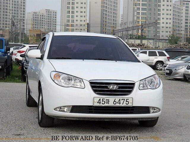 used 2008 hyundai avante elantra s16 for sale bf674705 be forward. Black Bedroom Furniture Sets. Home Design Ideas