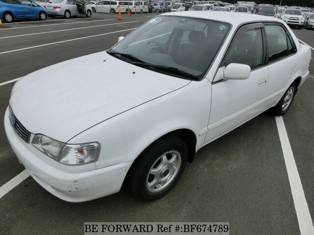 used 1997 toyota corolla sedan se saloon e ae110 for sale bf674789 rh beforward jp AE102 Corolla Toyota Toyota Corolla AE100 Japan