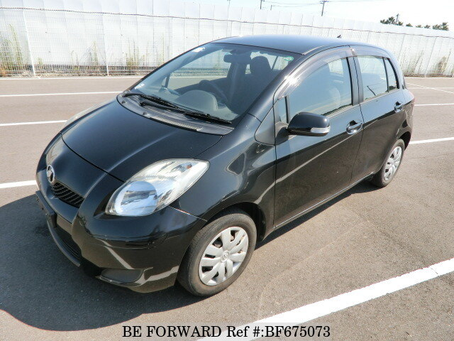 Used 2010 TOYOTA VITZ BF675073 for Sale
