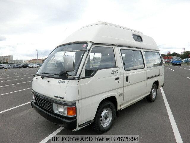 Used 1990 Nissan Caravan Van Camping 2 7dx High Roof N Vrmge24 For