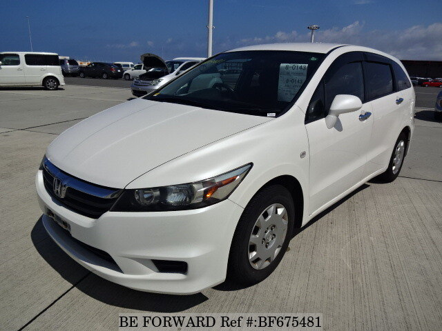 Used 2007 HONDA STREAM BF675481 for Sale