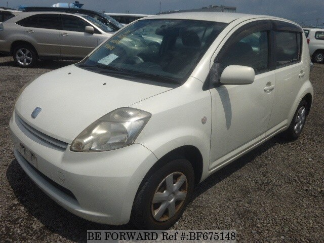 Used 2004 TOYOTA PASSO BF675148 for Sale
