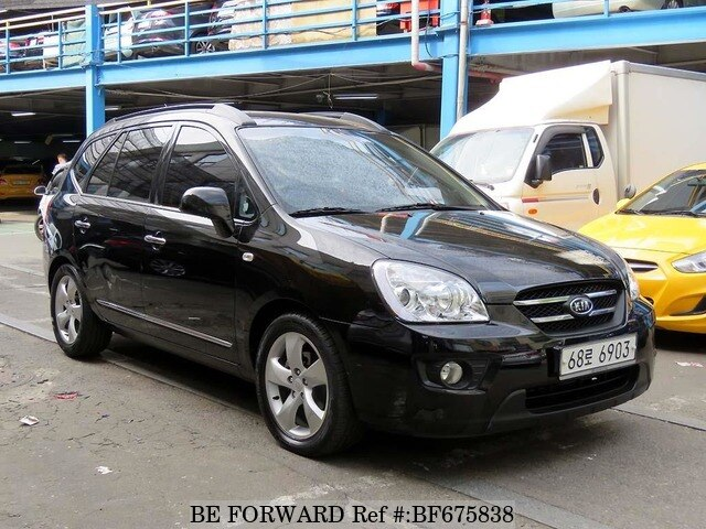 Used 2008 Kia Carens For Sale Bf675838 Be Forward