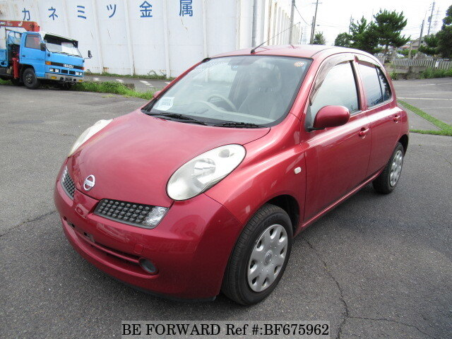 Used 2007 NISSAN MARCH BF675962 for Sale