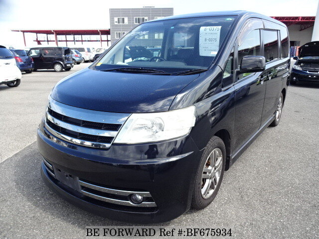 Used 2007 NISSAN SERENA BF675934 for Sale