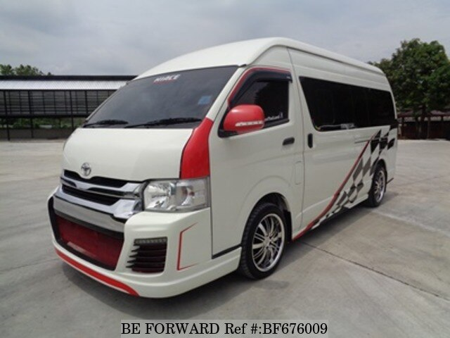 Used 2017 Toyota Hiace Commuter 3 0 Kdh223r Lemdyt For Sale Bf676009