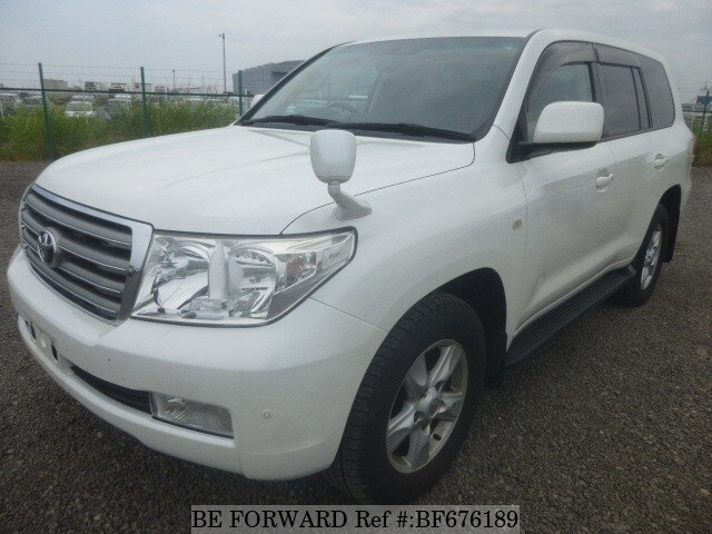 Used 2008 TOYOTA LAND CRUISER BF676189 for Sale