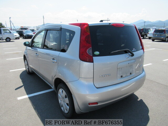 used 2006 nissan note 15s four v package dba ne11 for sale. Black Bedroom Furniture Sets. Home Design Ideas