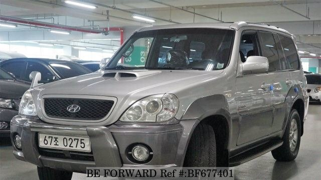 Used 2003 Hyundai Terracan Bf677401 For