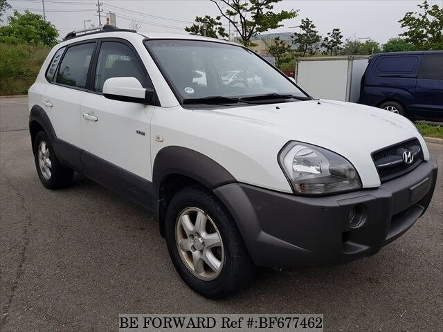 Used 2006 Hyundai Tucson Mx For Sale Bf677462 Be Forward