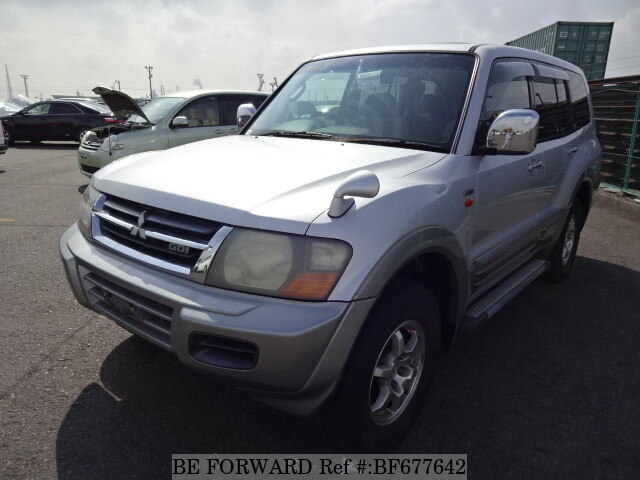 Used 2002 MITSUBISHI PAJERO BF677642 for Sale