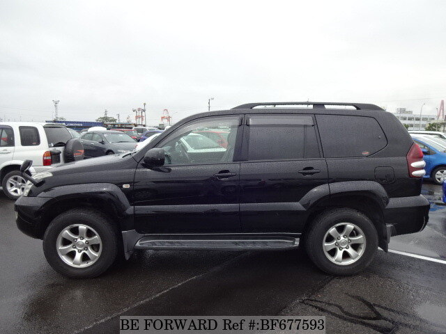 used 2006 toyota land cruiser prado tx limited 60th special edition cba grj120w for sale. Black Bedroom Furniture Sets. Home Design Ideas