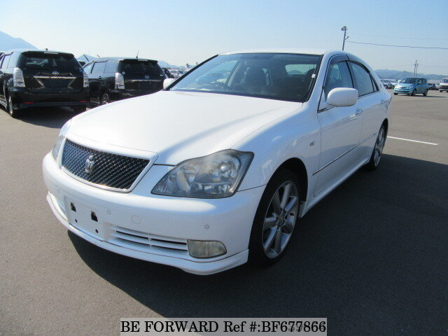 used 2005 toyota crown athlete dba grs180 for sale bf677866 be forward rh sp beforward jp Toyota Crown At 2007 Toyota Crown Athlete