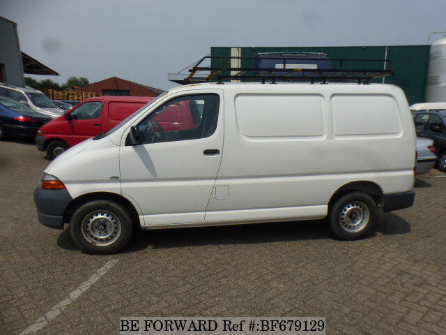 used 2006 toyota hiace van for sale bf679129 be forward. Black Bedroom Furniture Sets. Home Design Ideas