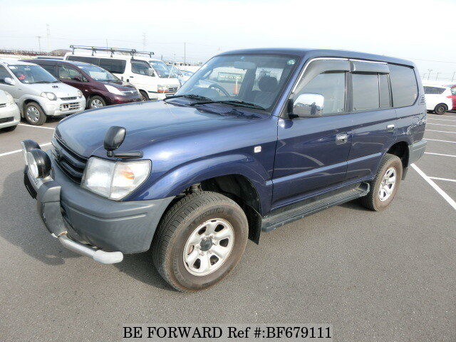 Used 1996 TOYOTA LAND CRUISER PRADO BF679111 For Sale