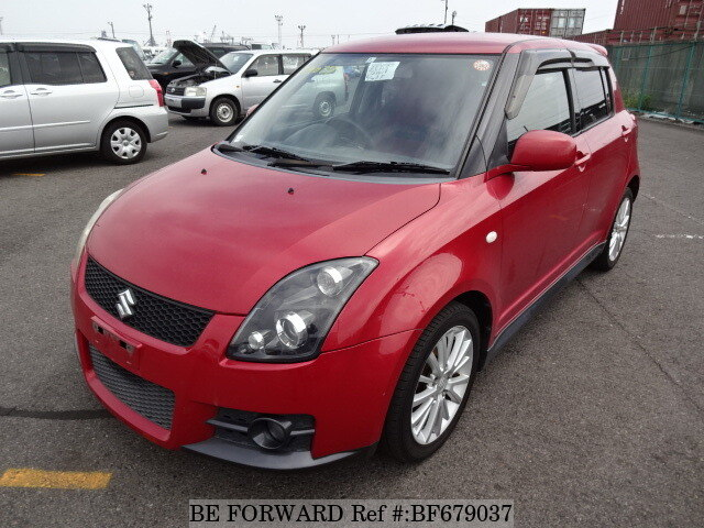used 2006 suzuki swift sports cba zc31s for sale bf679037 be forward. Black Bedroom Furniture Sets. Home Design Ideas