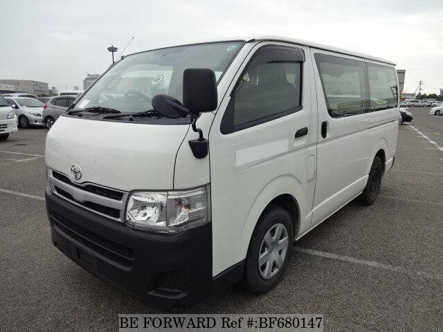 Used 2012 TOYOTA HIACE VAN DX/QDF-KDH201V for Sale BF680147