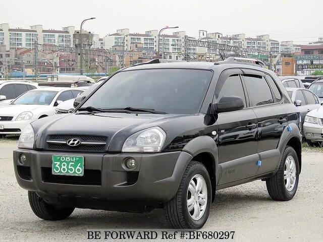 used 2006 hyundai tucson mx for sale bf680297 be forward. Black Bedroom Furniture Sets. Home Design Ideas