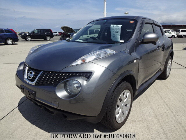 Used 2013 NISSAN JUKE 15RS TYPE V/DBA-YF15 for Sale BF680818 - BE